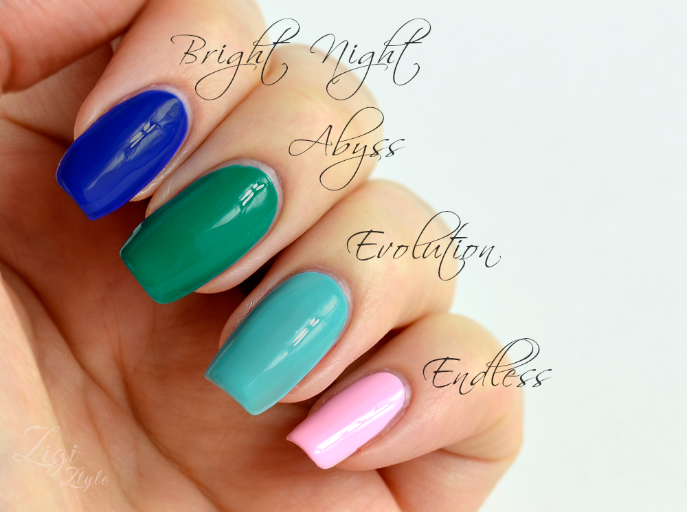 ZigiZtyle: Color Club Kaleidoscope Collection - My 4 Picks
