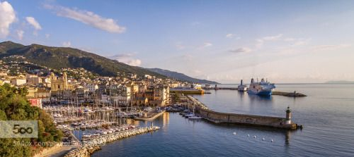Bastia harbor, Corsica by RaoulDeWinne #SocialFoto