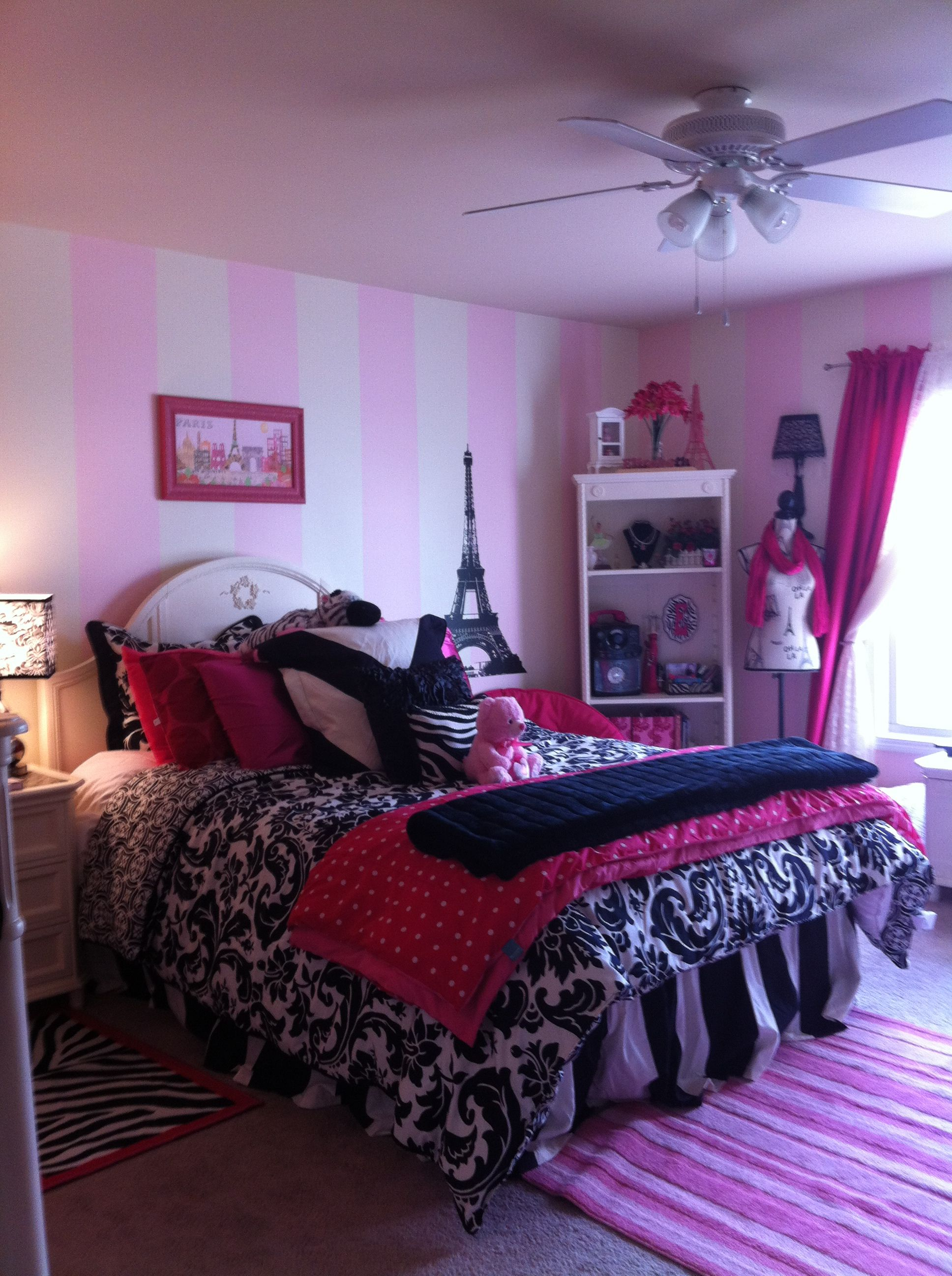 Paris Room...but Purples. Daughter's Room Almost Complete