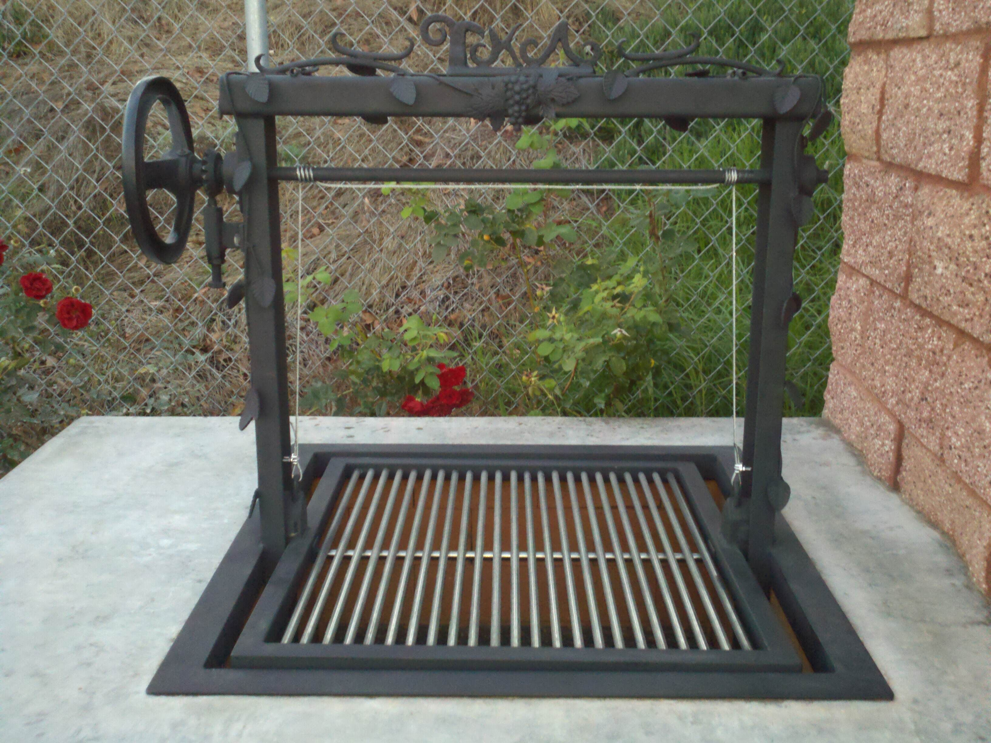 Steel Frame Outdoor Kitchen Custom Santa Maria Grill Leasure Concepts Outdoors Pinterest