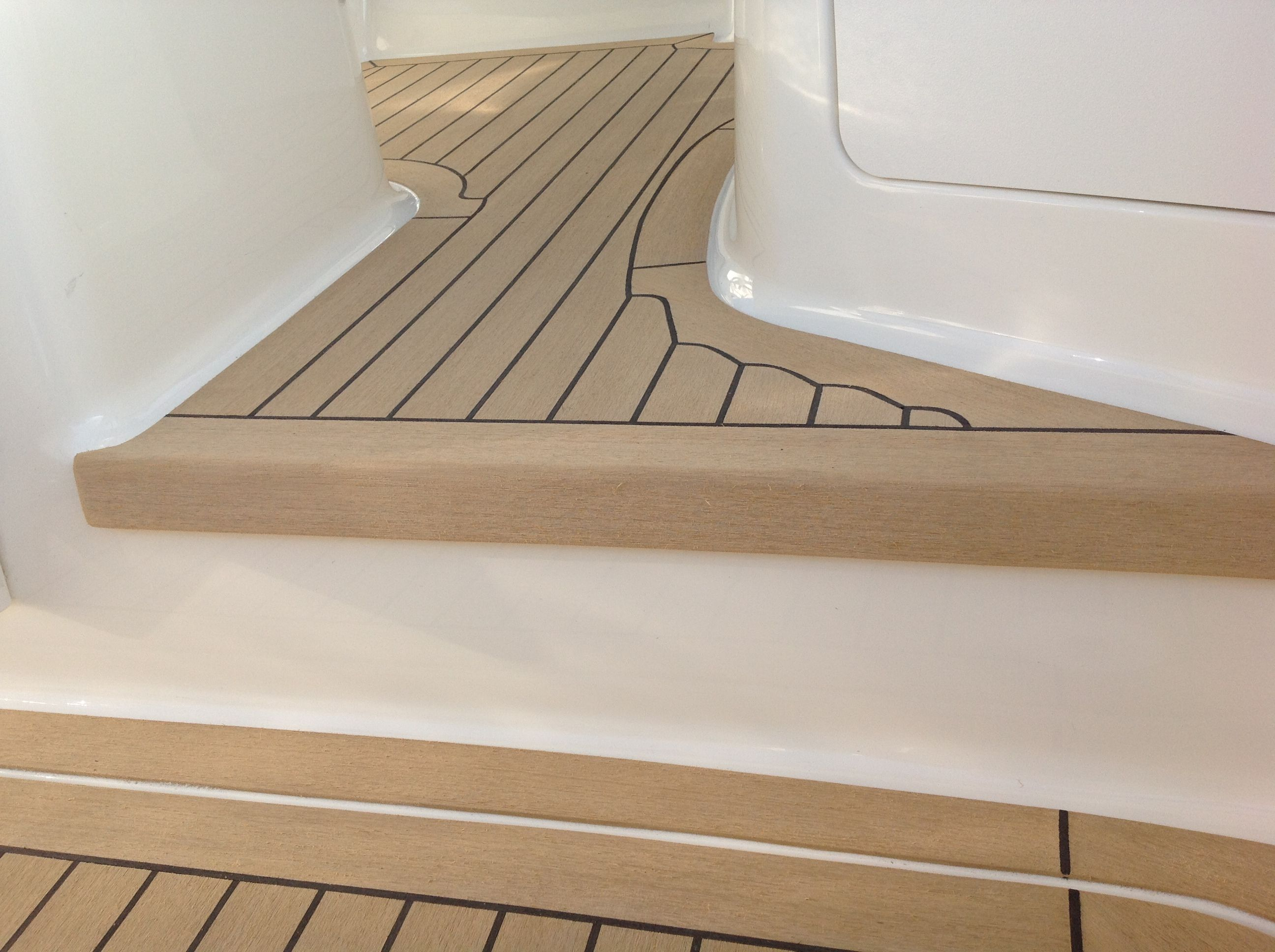 Best Synthetic Treads For Spiral Staircase Teak Deck Boat 640 x 480