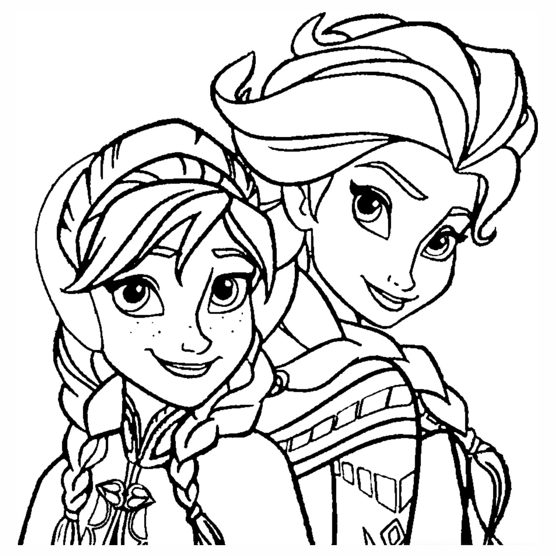 Ausmalbilder Eiskönigin Völlig Unverfroren : Frozen Elsa E Anna Desenhos Pra Colorir Pinterest