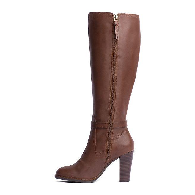 Schuhe cognac braun