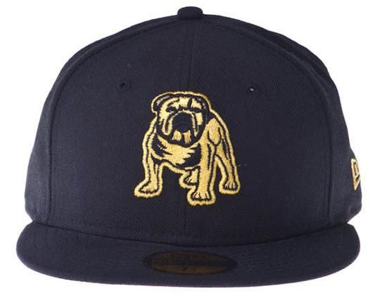 89599ff9425 Gold Canterbury Bulldogs 59Fifty Fitted Baseball Cap by Custom NEW ERA x NRL