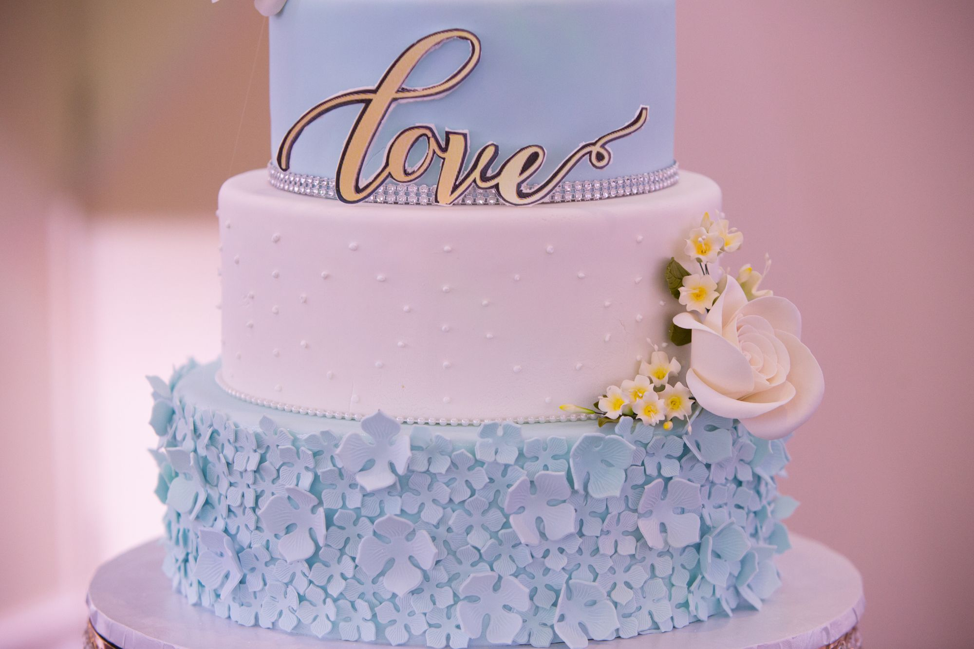 In-house Wedding Cake. Paradise Banquet Hall Weddings