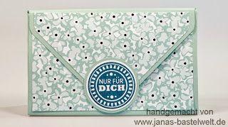 Janas Bastelwelt - Unabhängige Stampin' Up! Demonstratorin: Video-Tutorial: Envelope Punchboard-Tasche