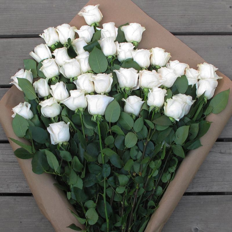 Поздравления, пожелания с добрым утром женщине в картинках с белыми розами