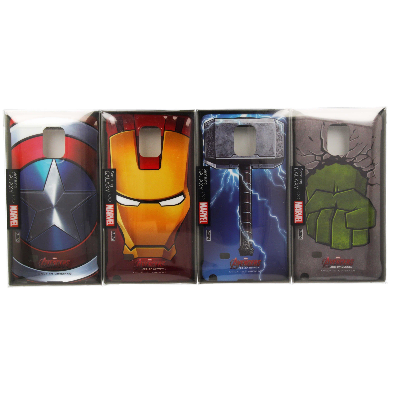 Samsung Bundle Case Marvels The Avengers - оригинални кейсове с героите на Марвел за Samsung Galaxy Note 4 (4 броя): •… www.Sim.bg