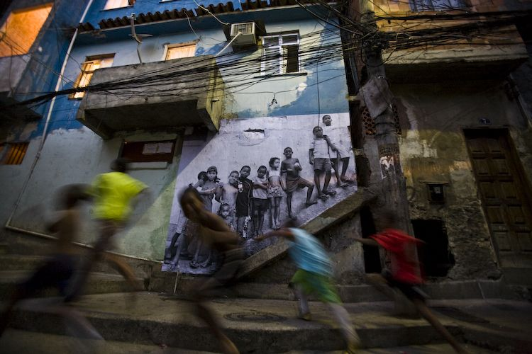 JR In The Favelas Of Rio