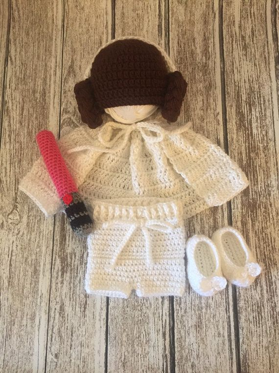 Princess leia costume // 3-6 months // star wars by ElliesTiaras