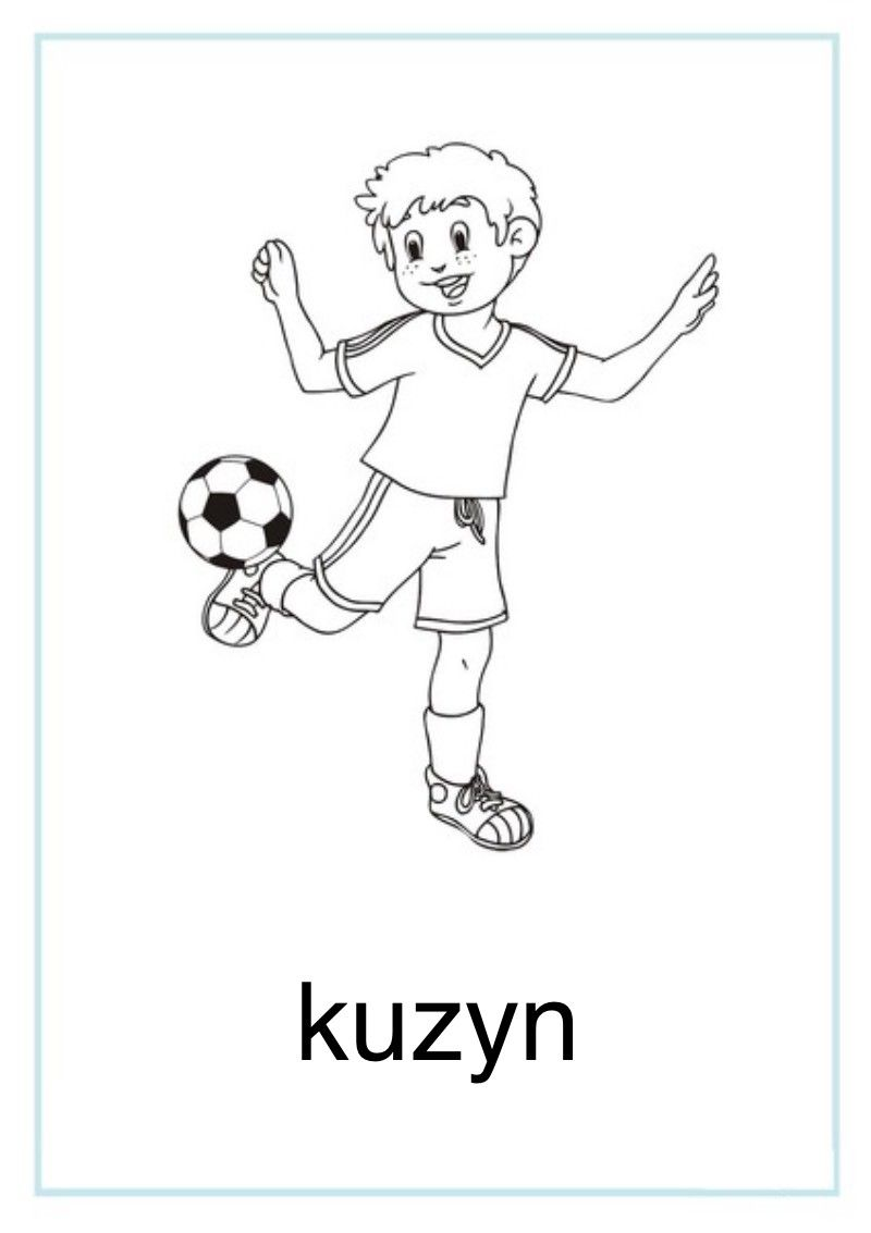 Tablice Edukacyjne Rodzina Do Druku 4 Activities For Kids Kids Activities