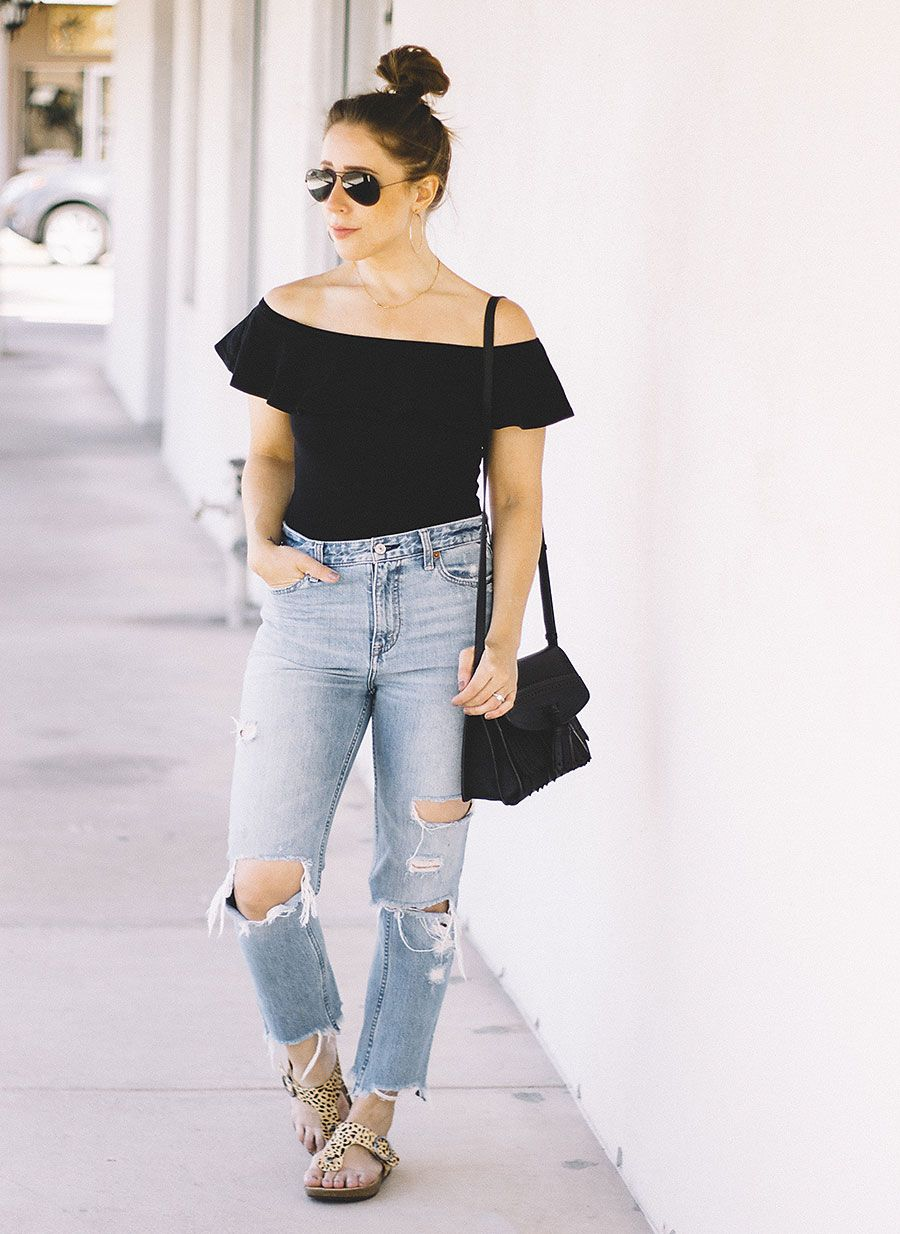 Sandals outfit summer