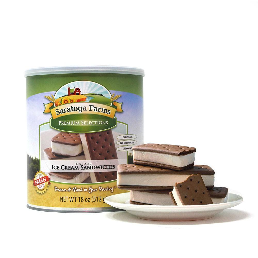 1 PACK – Saratoga Farms Ice Cream Sandwiches