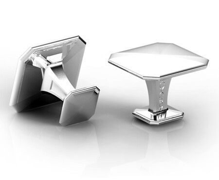Gemelos Simply Solids Square Cufflinks - Sterling Silver