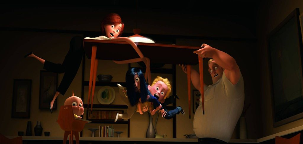 """The Cinematography of The Incredibles Part 1 & Part 2 """" The procedure taken to get each animated shot completed is a long and tedious one. Here's a basic summary to give you a hint of the many steps..."""