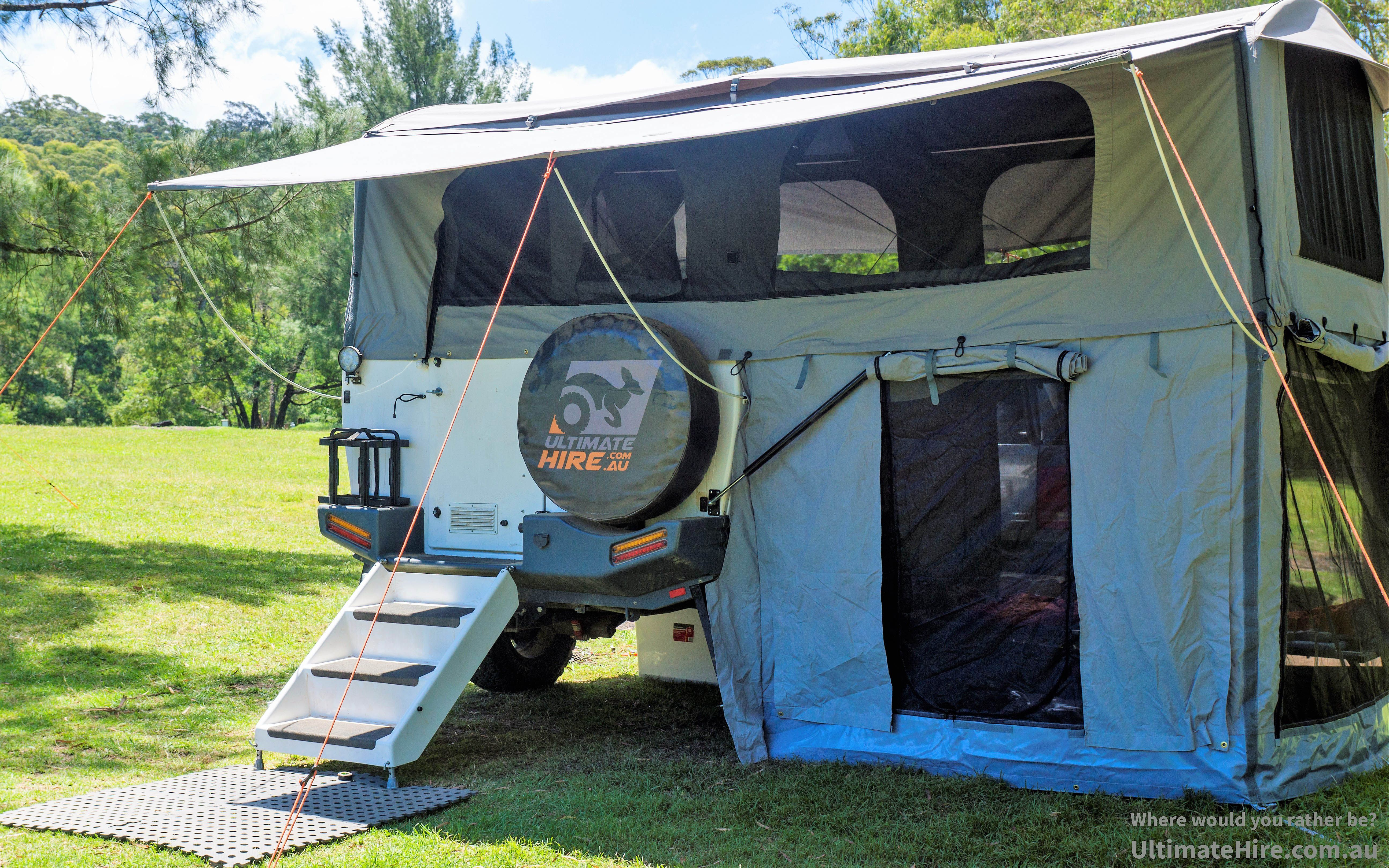 Ultimate Hire Is A Premium Camping Hire Company This Is The Ultimate Xplor Gt Sleeps Up To 6 Camping Camping Hacks Camping Equipment