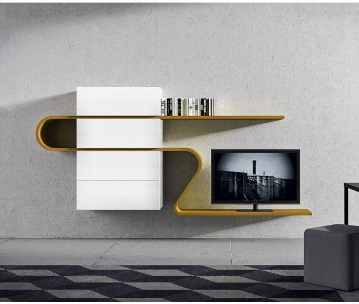 Novamobili TV Wohnwand About 26 | Tv units, TVs and Tv walls