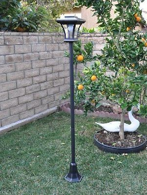 Farm Garden New 67 Solar Ed Lamp Post Light With