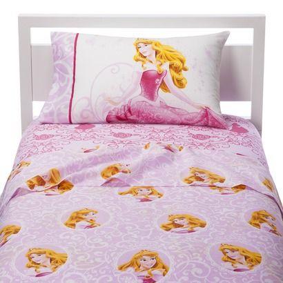 "Disney ""Be a Princess"" Sheet Set Twin Princess sheets"