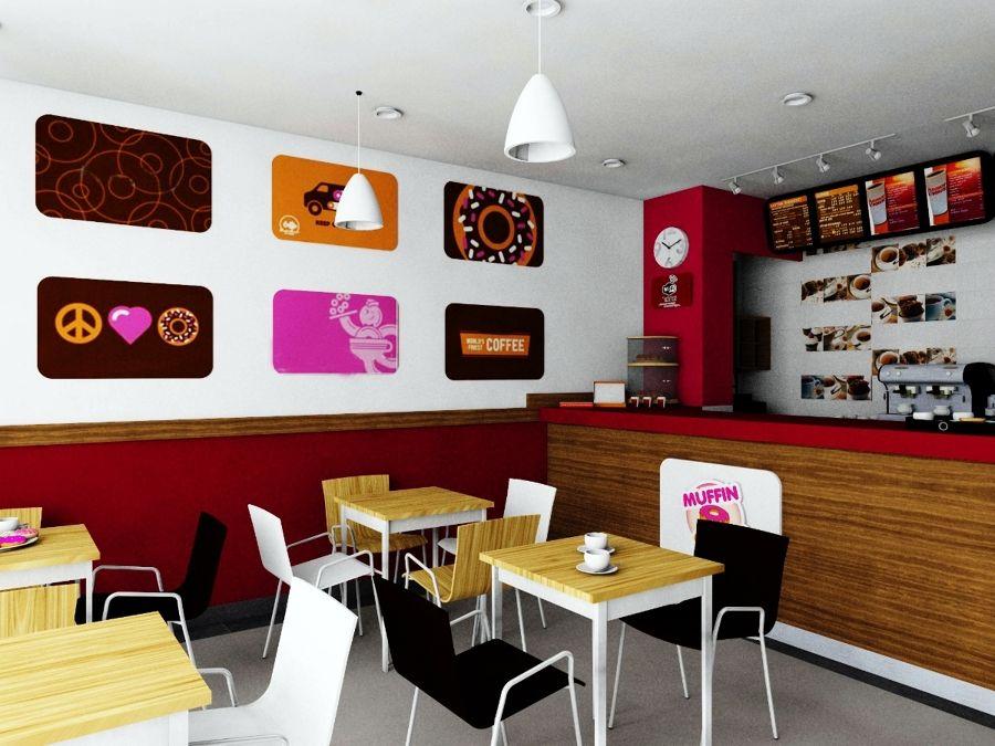 Resultado de imagen para decoracion de cafeterias modernas for Decoracion de interiores pequenos fotos