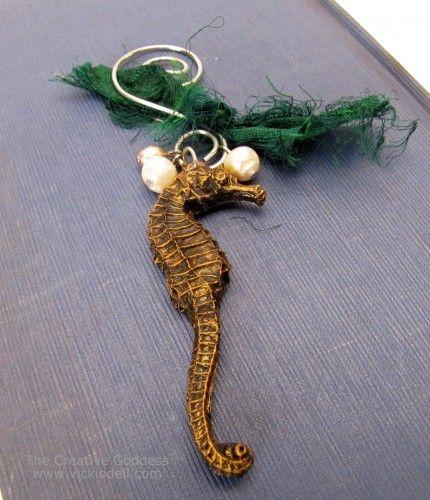 Resin Seahorse Ornament
