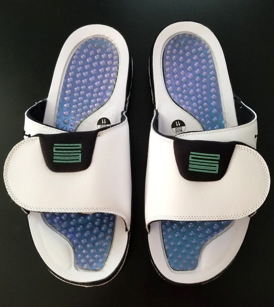 e6122012dbc NIKE AIR JORDAN HYDRO 11 'Emerald' Men's Sandals AA1336 117 Size 11  #fashion #clothing #shoes #accessories #mensshoes #sandals