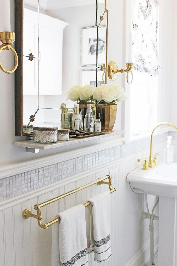 19 Sarah Richardson Contemporary Victorian Style Bathroom 19 Sarah