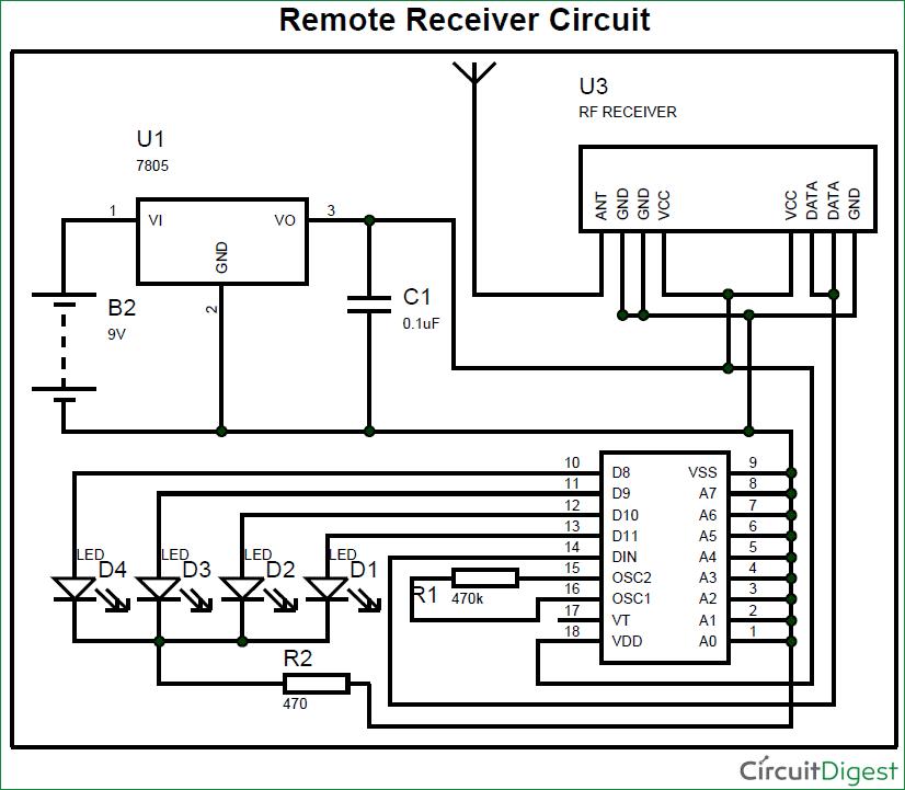 LM723 Voltage Regulator Circuit diagram | Electronic Circuit ...