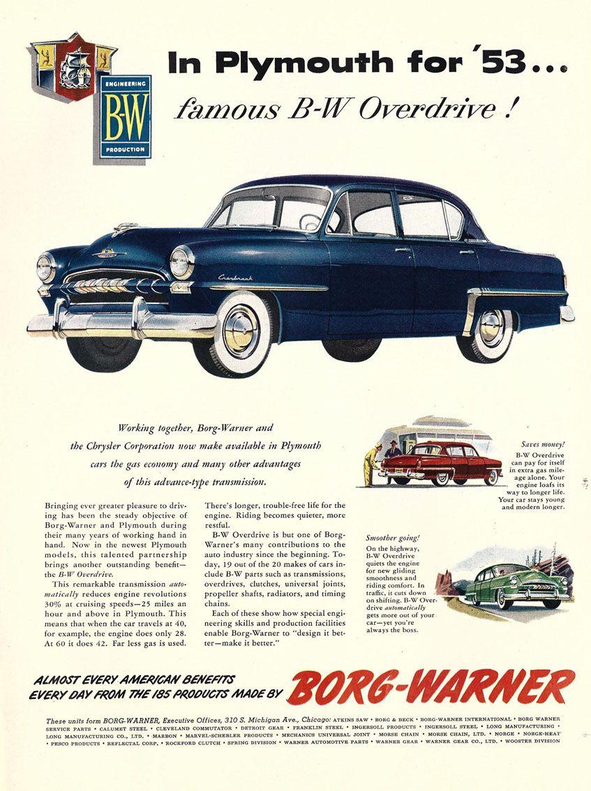 1953 Plymouth Car Brochures Pinterest And Cars Savoy Wagon