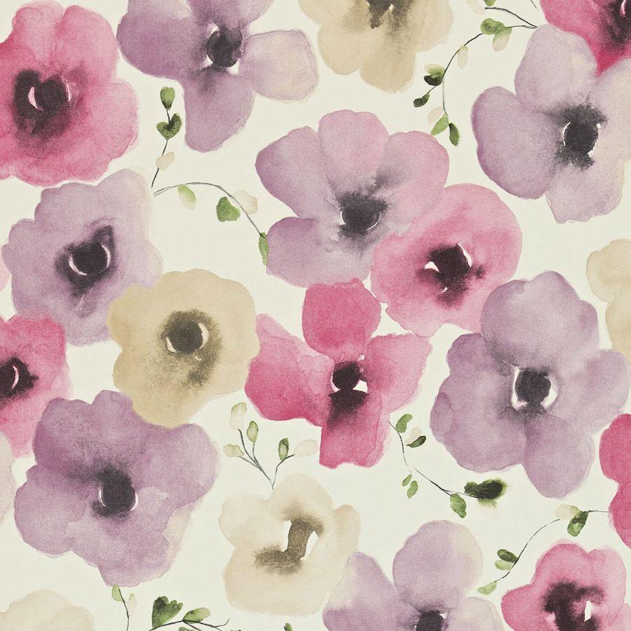 026 Floral Print | Purple | paper,pattern&print | Pinterest | Printing