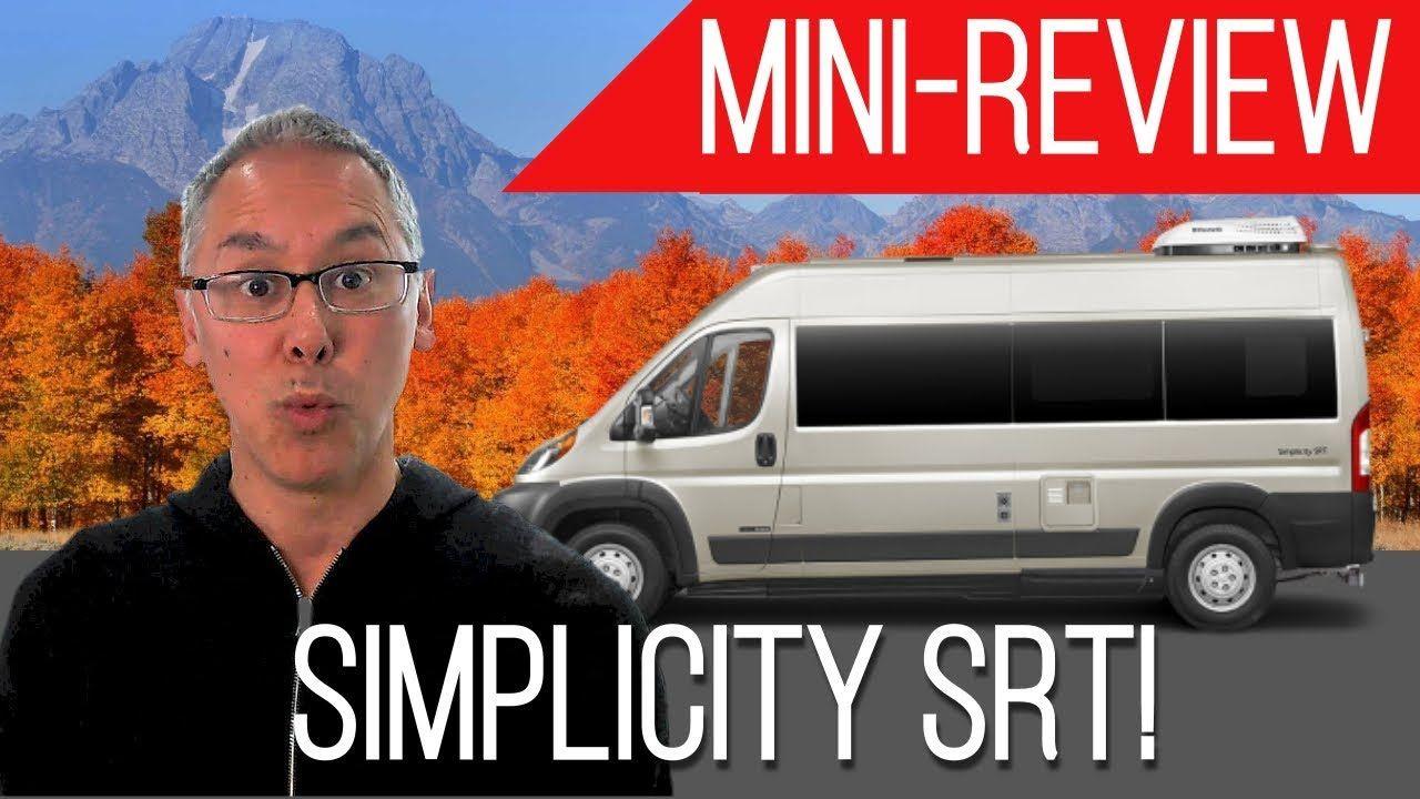 MiniReview Roadtrek Simplicity SRT A Permanent Bed in