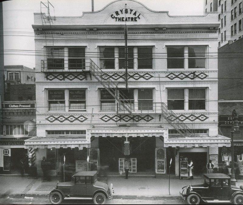 Crystal Theater Dallas 1913 Dallas Texas Dallas Fort Worth Dallas Tx