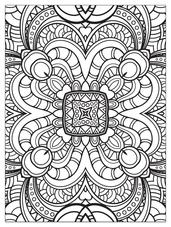 Mindfulness Mandalas N 3 Mandalas Coloring Pages for