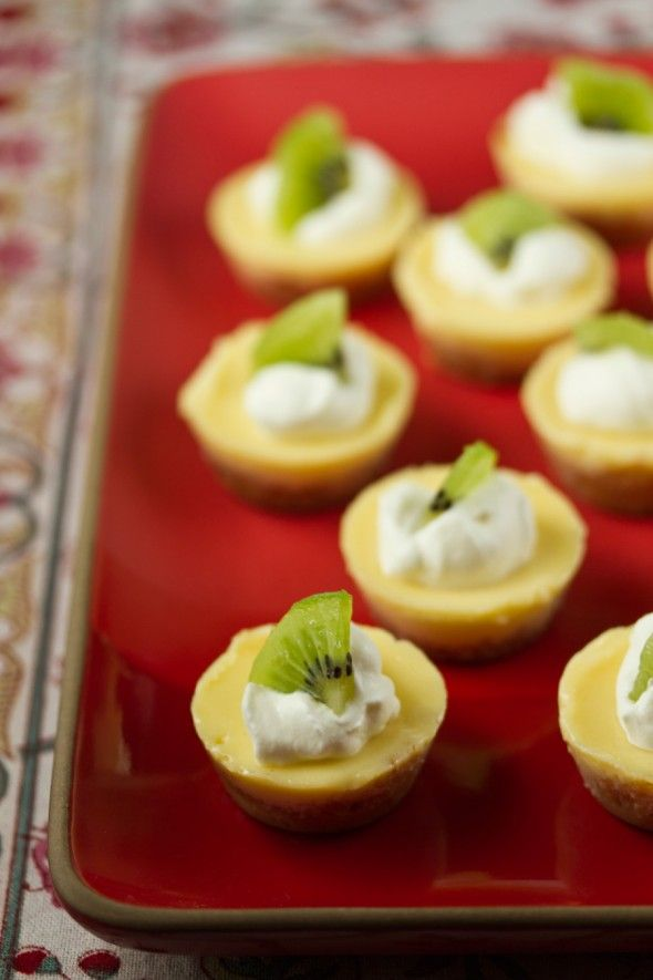 Meyer Lemon Icebox Pie Bites