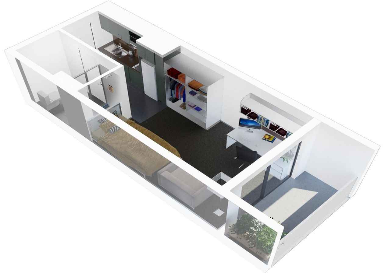 Studio Apartment Floor Plans studio Pinterest To be Studios