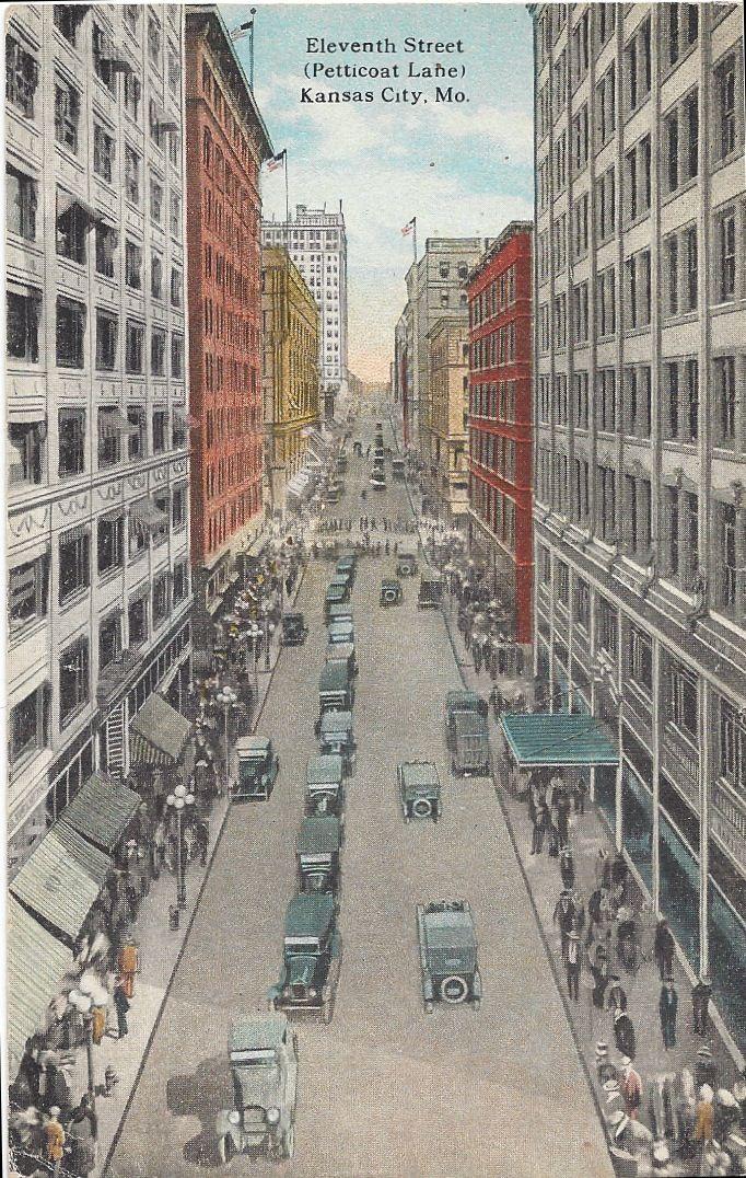 Petticoat Lane was the nickname for Kansas City, Mo.'s