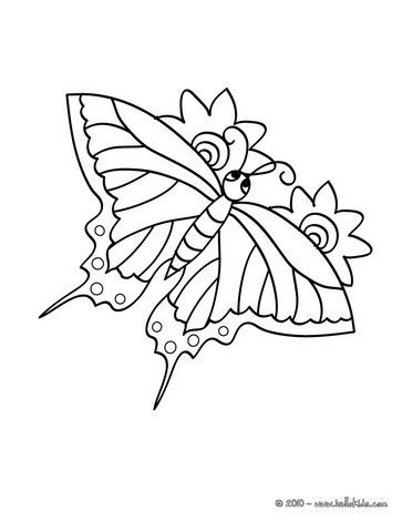 Tiger Swallowtail Butterly Coloring Page Nice Butterfly Coloring