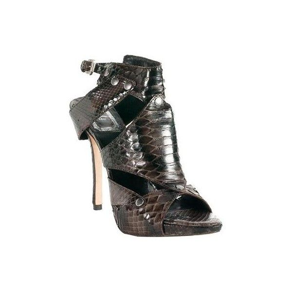 Dior Python Extreme Gladiator Sandals