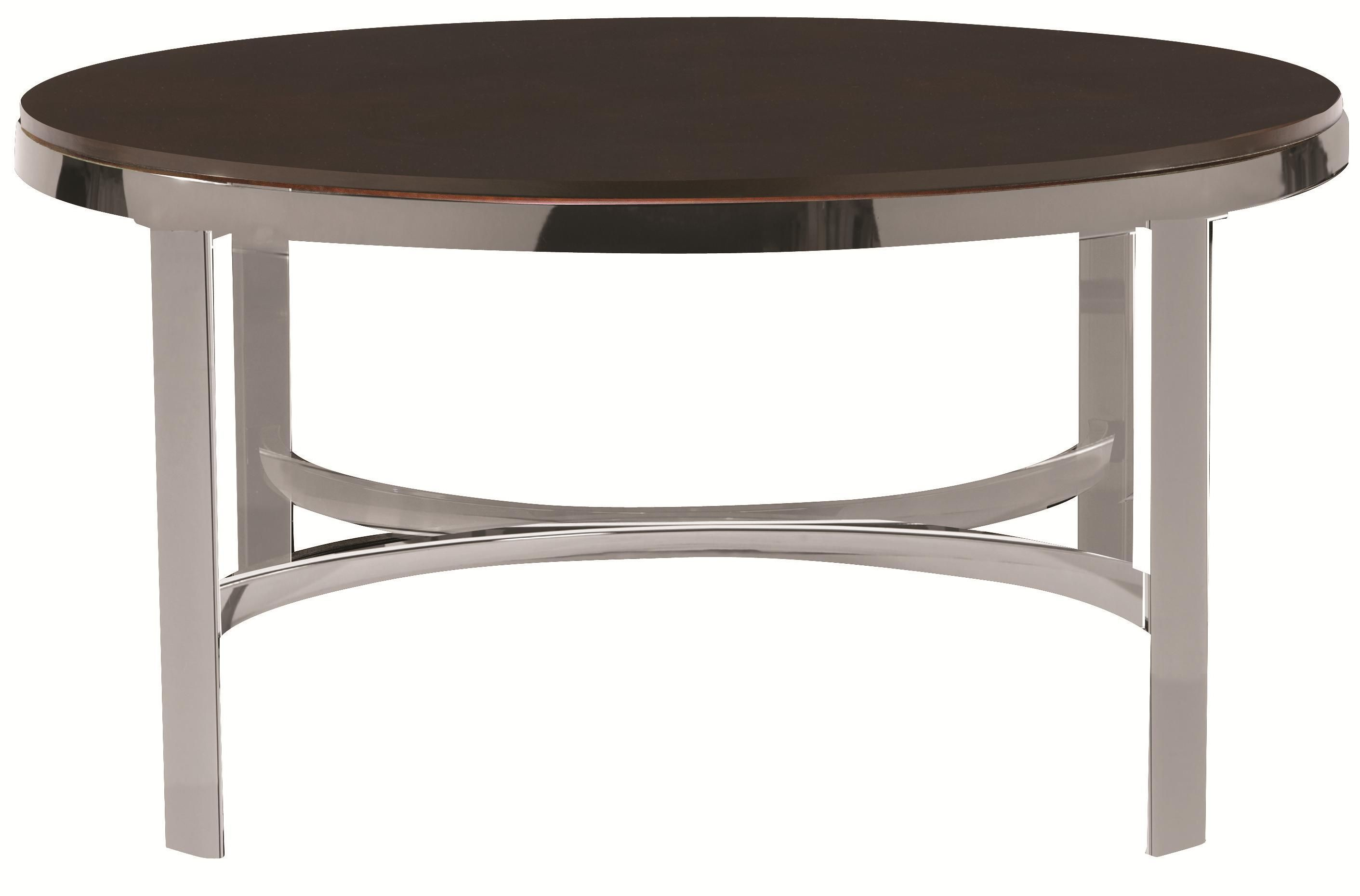 Best Sterling Round Cocktail Table By Bassett Coffee Table 400 x 300