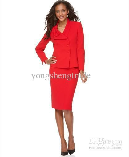 women in red suite | ... Suits,Ladies Suits , Women's Clothing ...