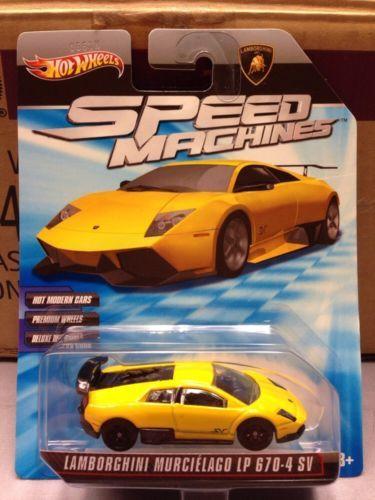 2010 Hot Wheels Speed Machines Lamborghini Murcielago Lp 670 4 Sv
