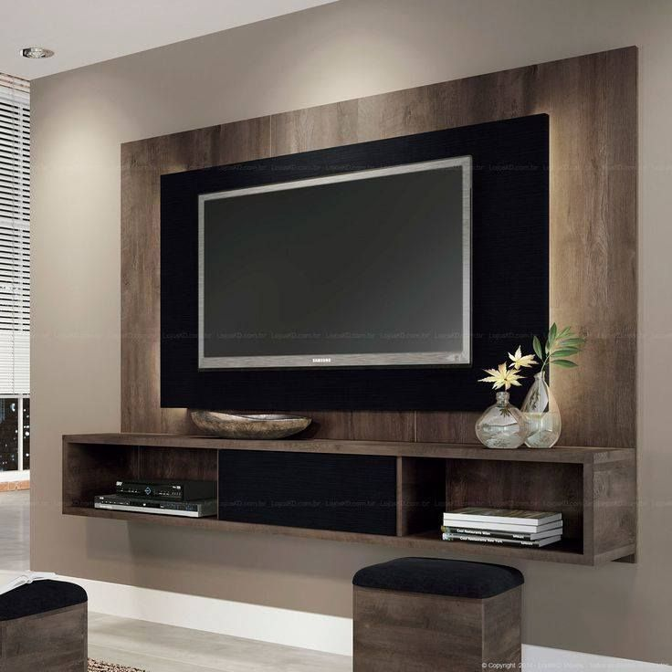Chic and Modern TV Wall Mount Ideas for Living Room | Wall mounted ...