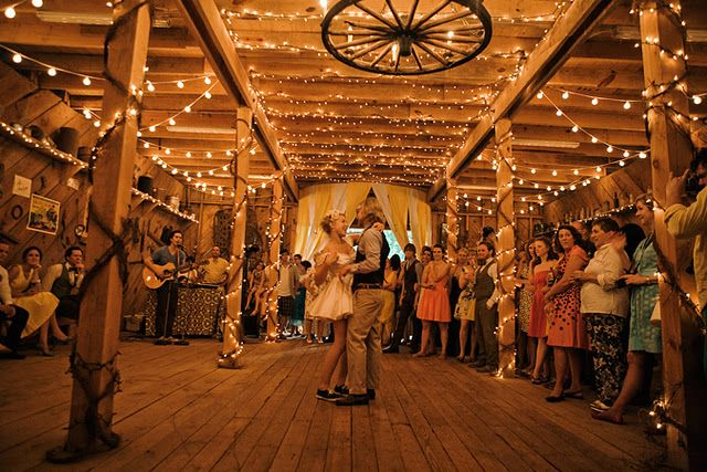 see... Barn weddings ARE cool.