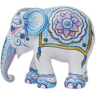 Elephant Parade Indian Blues Elefanten Elefant Elefant Malen