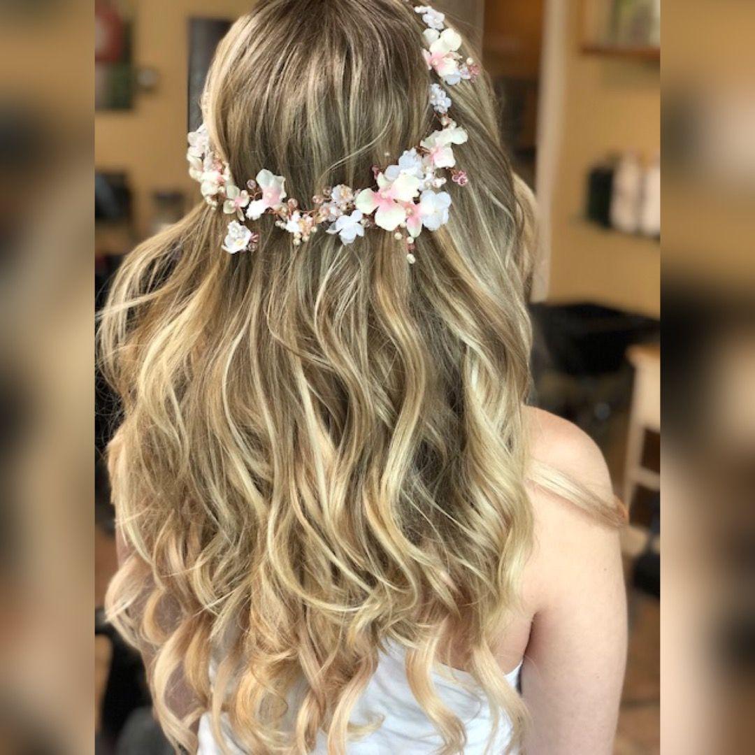 Pin by Ell Beauty Bar on Bridal updos Long hair styles