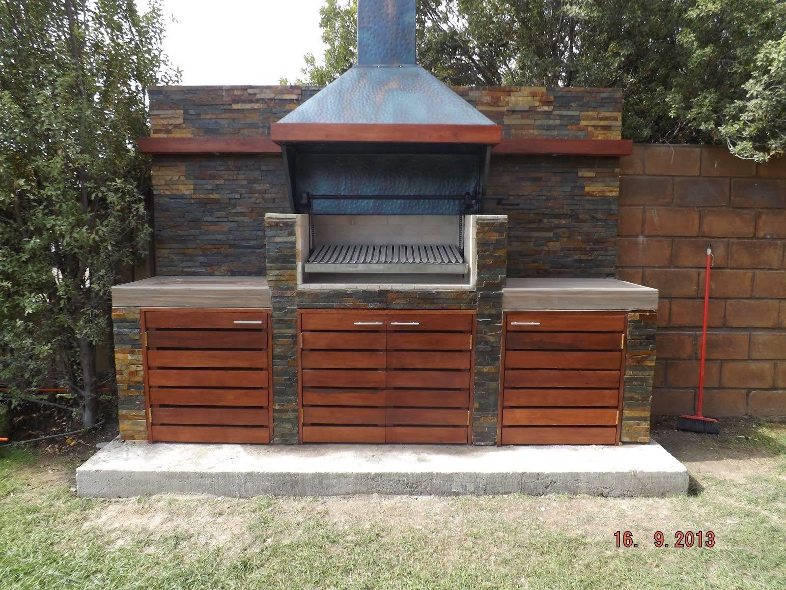 Quincho rquinteros terrazas outdoor kitchen design bbq area garden y patio - Hornos para casa ...