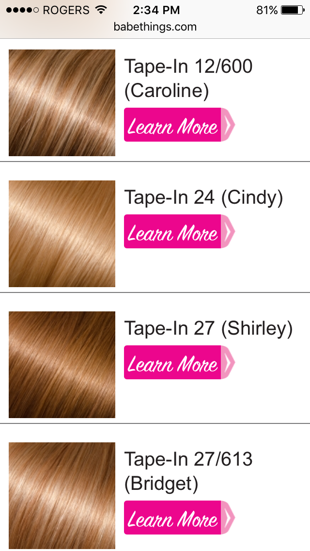 Babe tape in hair colors thinking about hair extensions again babe tape in hair colors pmusecretfo Image collections