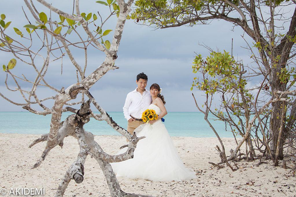 Wedding photo shooting at Isla Blanca ウエディング フォトセッション イスラ ブランカ AkiDemi Photography www.akidemi.com