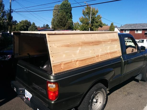How To Make A Truck Canopy