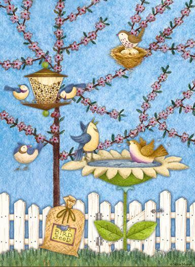 Debbie Mumm -Spring is on the wing!